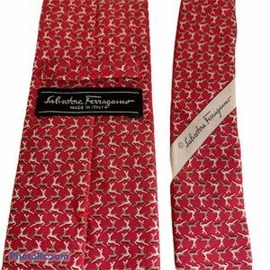 Salvatore Ferragamo Exclusive Reindeer Silk Tie